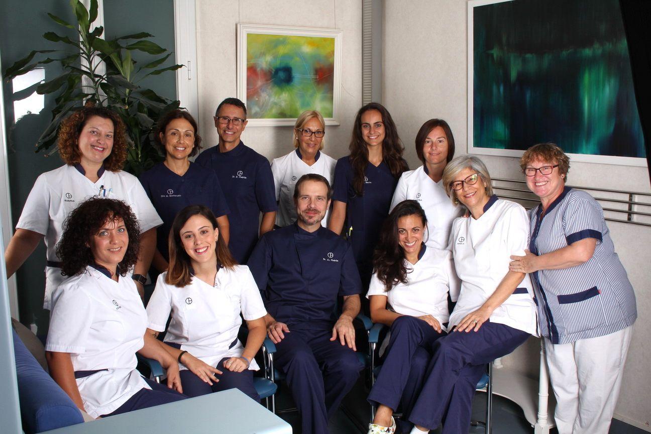 Este es el equipo humano del mejor dentista en Barcelona, el equipo de la Clínica Dental Padrós