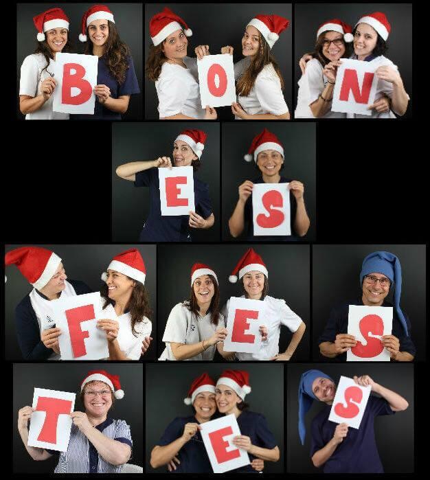 El equipo de Clínica Padrós Paral·lel os desea una feliz Navidad y un próspero año nuevo